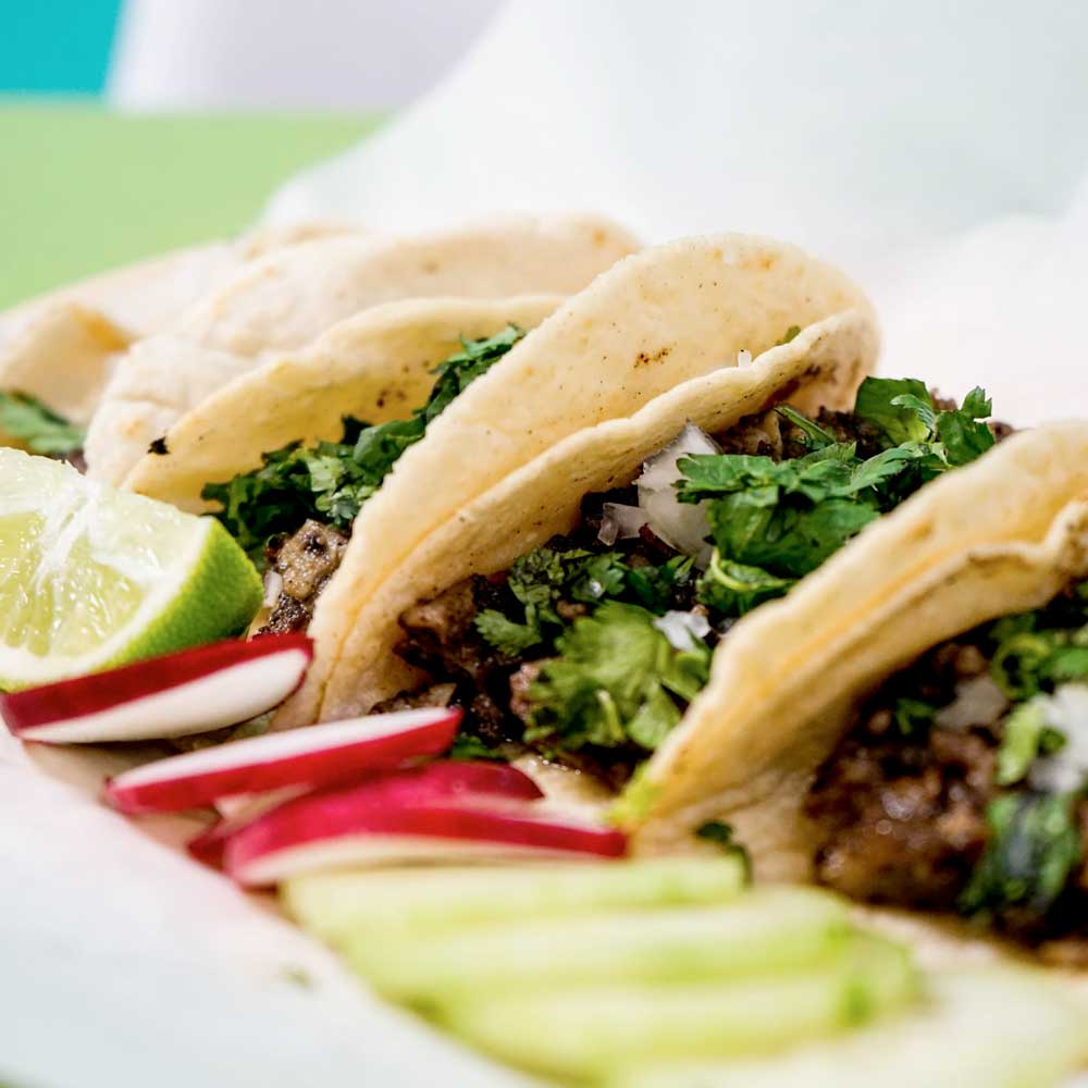 Authentic street tacos from El Nido - a Mexican restaurant in Danville, CA